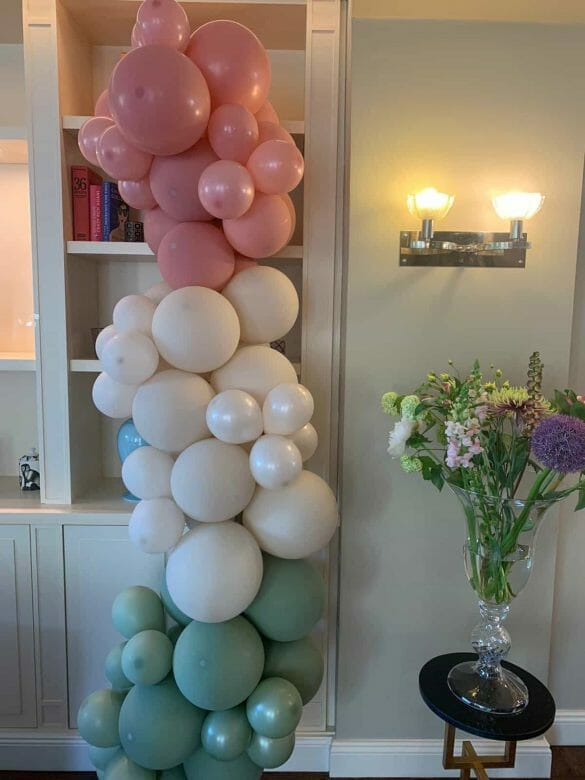 Dekoration mit Ballons 3