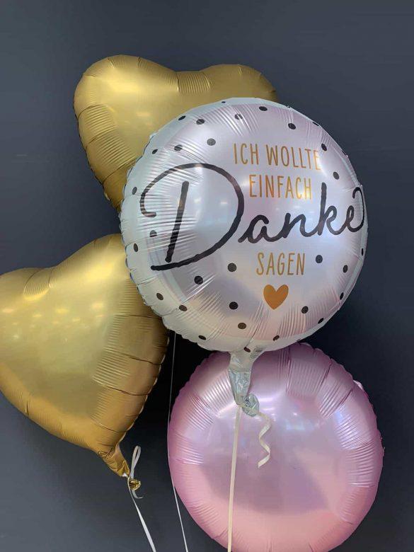Danke Ballon € 5,90 <br> Dekoballons je € 4,50 2