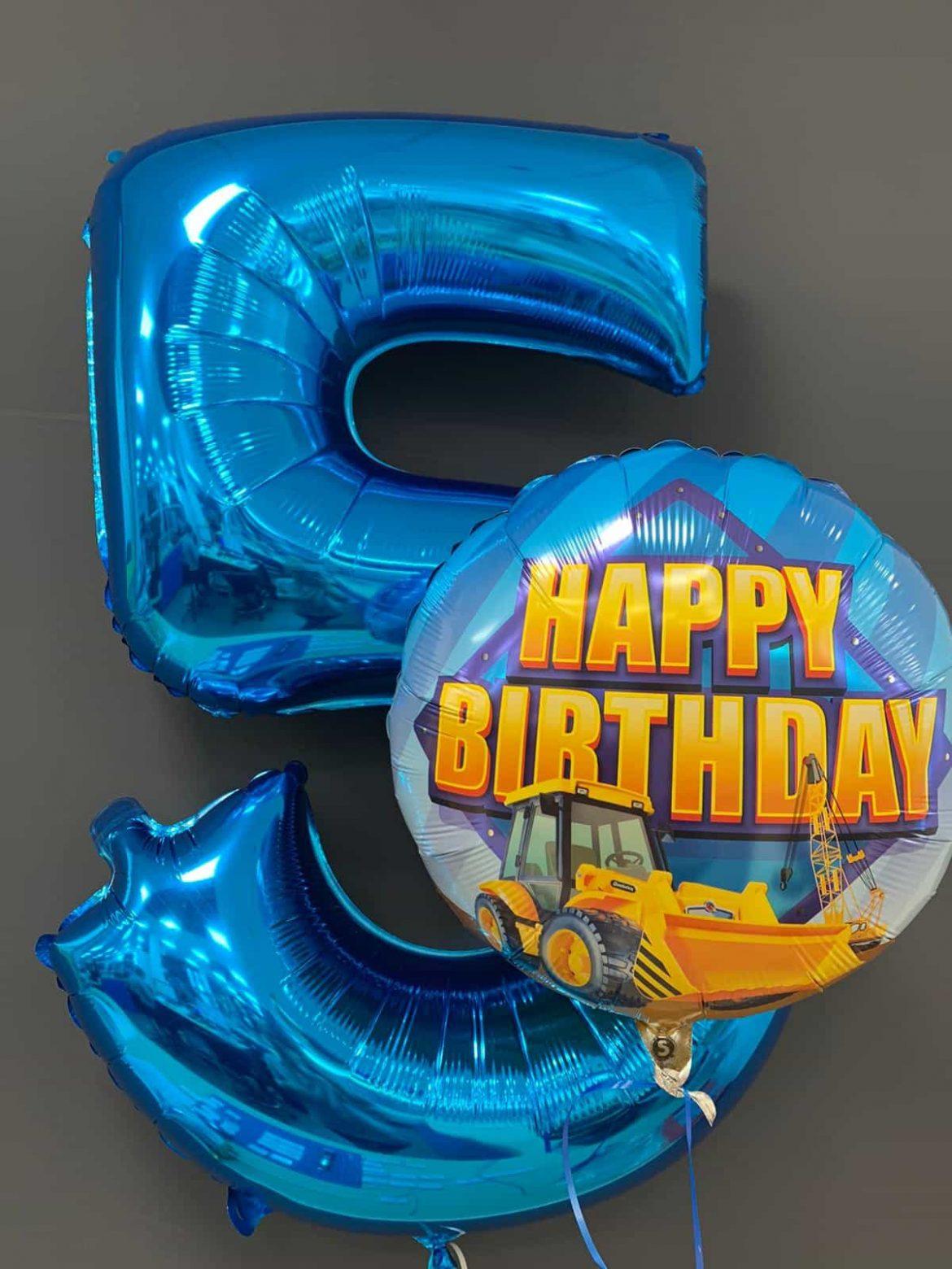 Happy Birthday € 5,50 <br> Zahlenballon € 9,90 1