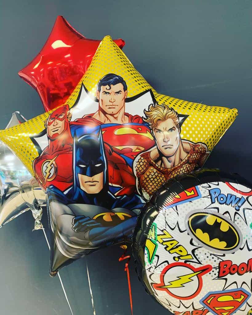 Superhelden-Ballons 1