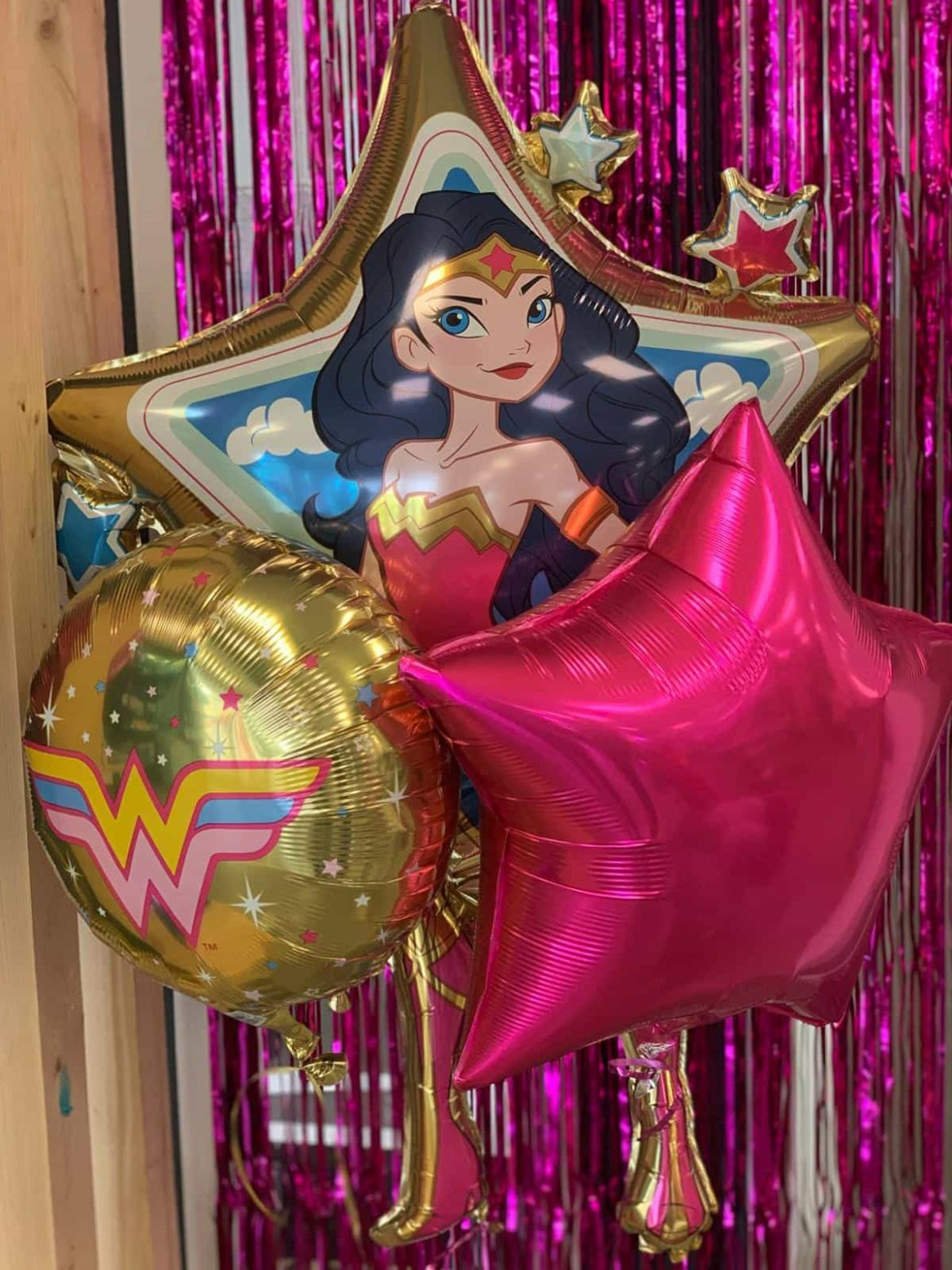 Ballon Wonder Woman <br> Dekoballons 1