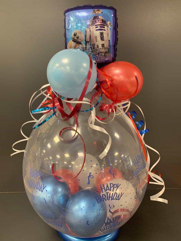 Ballongeschenk Geburtstag 7